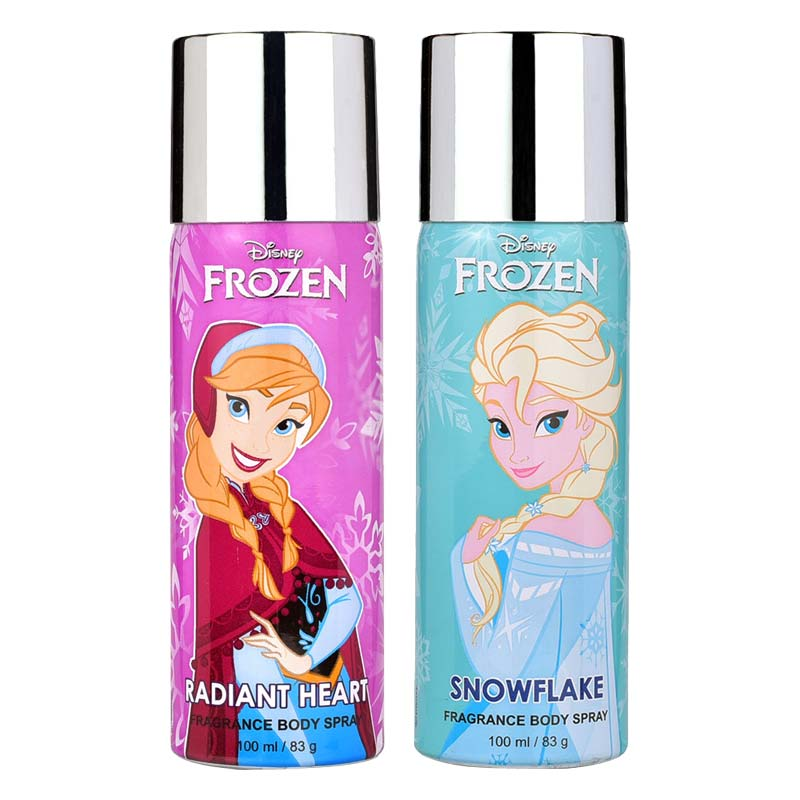 Disney Frozen Radiant Heart And Snowflake Pack of 2 Deodorants