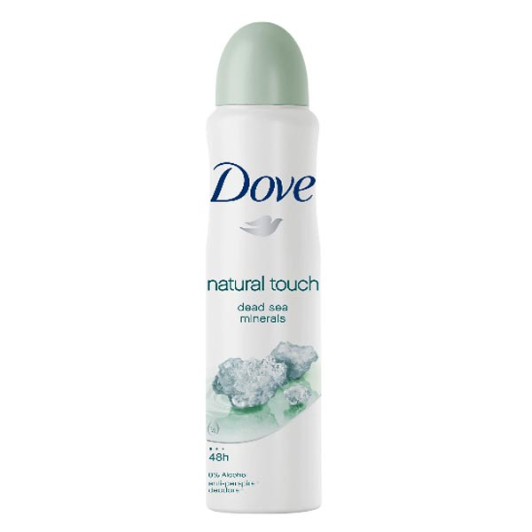 Dove Natural Touch Dead Sea Minerals Extract Deodorant