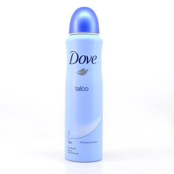 Dove Talco No-Alcohol Deodorant
