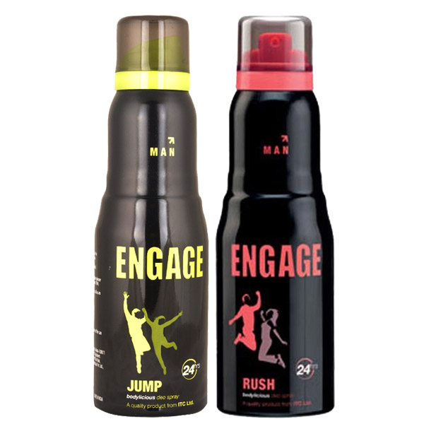 Engage Rush, Jump Pack of 2 Deodorants