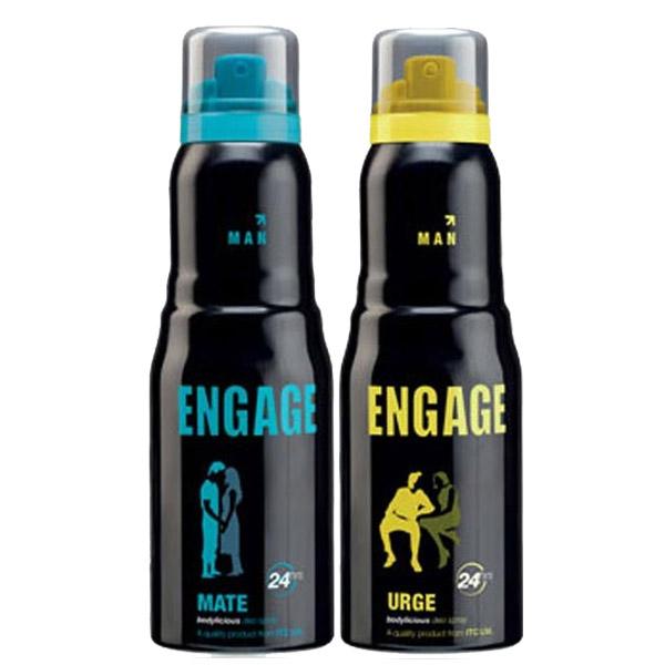 Engage Urge, Mate Pack of 2 Deodorants