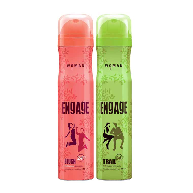 Engage Blush, Trail Pack of 2 Deodorants