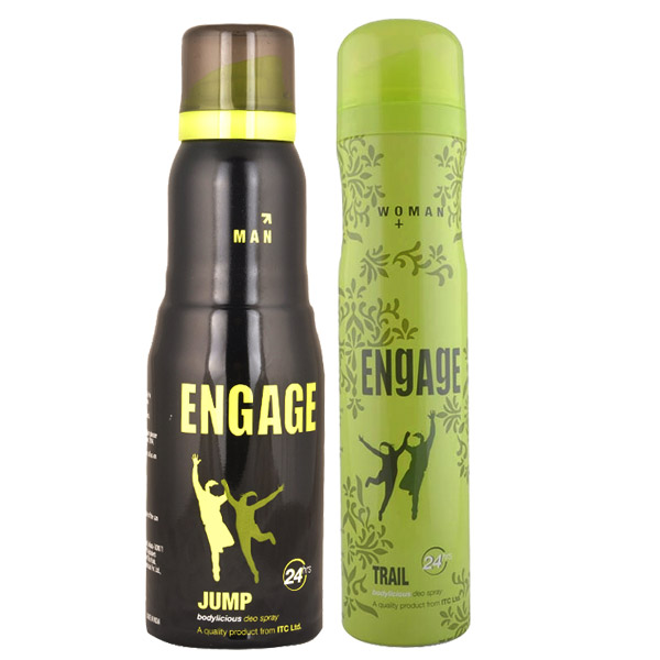 Engage Jump, Trail Pack of 2 Deodorants