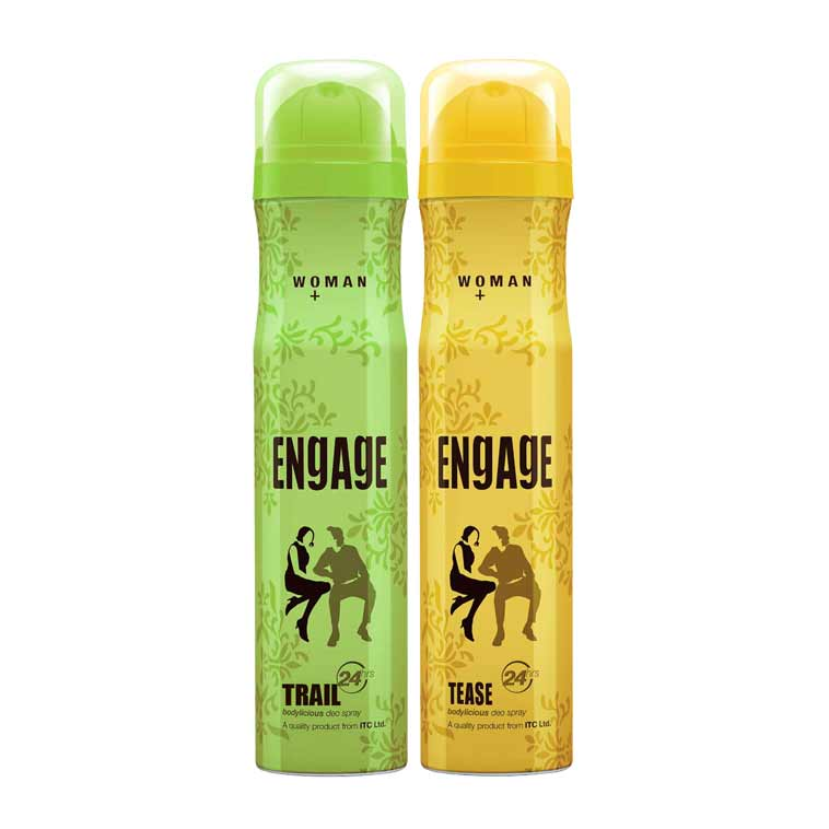 Engage Trail, Tease Pack of 2 Deodorants