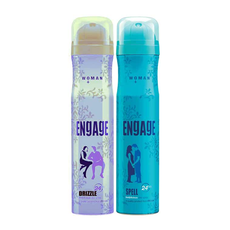 Engage Drizzle, Spell Pack of 2 Deodorants