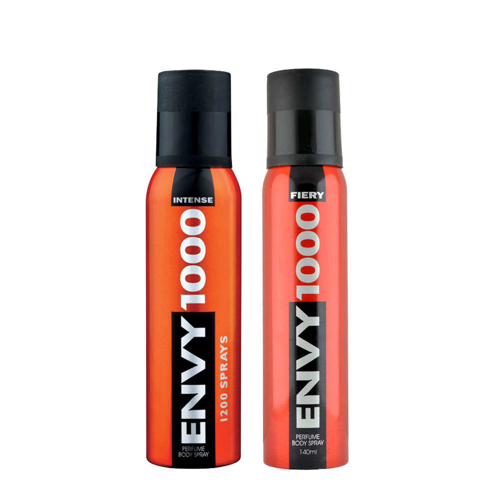 Envy 1000 Intense, Fiery Pack of 2 Deodorants