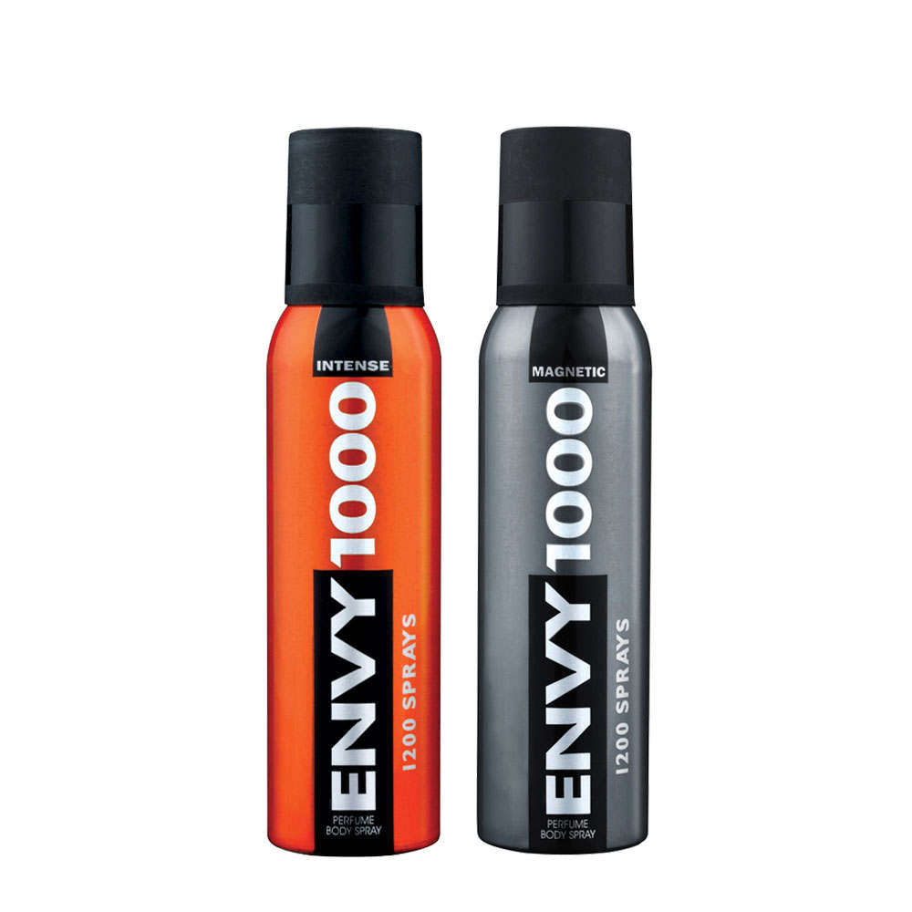 Envy 1000 Intense, Magnetic Pack of 2 Deodorants
