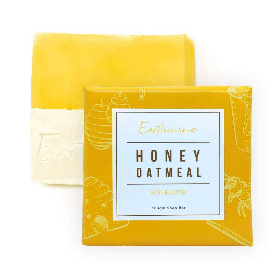 Earthmine Honey Oatmeal Bath Soap