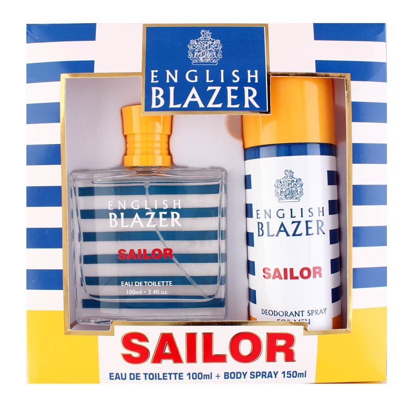 English Blazer Sailor Perfume And Deodorant Giftset