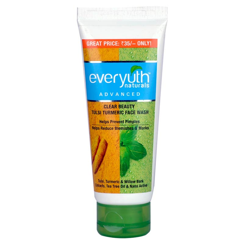 Everyuth Naturals Advanced Tulsi Turmeric Face Wash