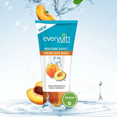Everyuth Naturals Moisture Boost Cream Face Wash