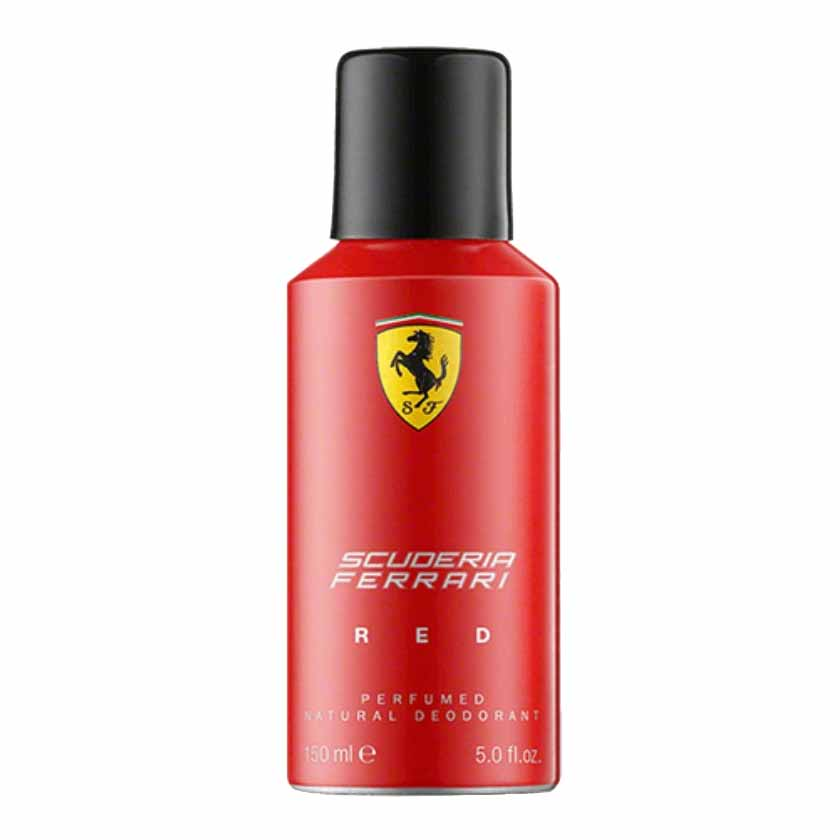 Scuderia Ferrari Red Deodorant Spray