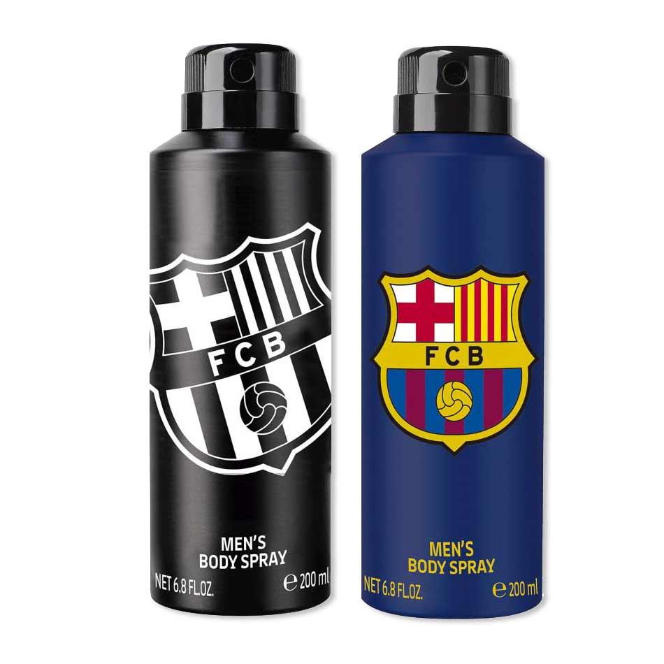 Football Club Barcelona Original And Black Pack Of 2 Deodorants