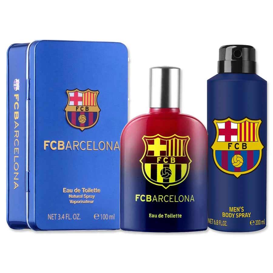 Football Club Barcelona Original Perfume And Deodorant Combo