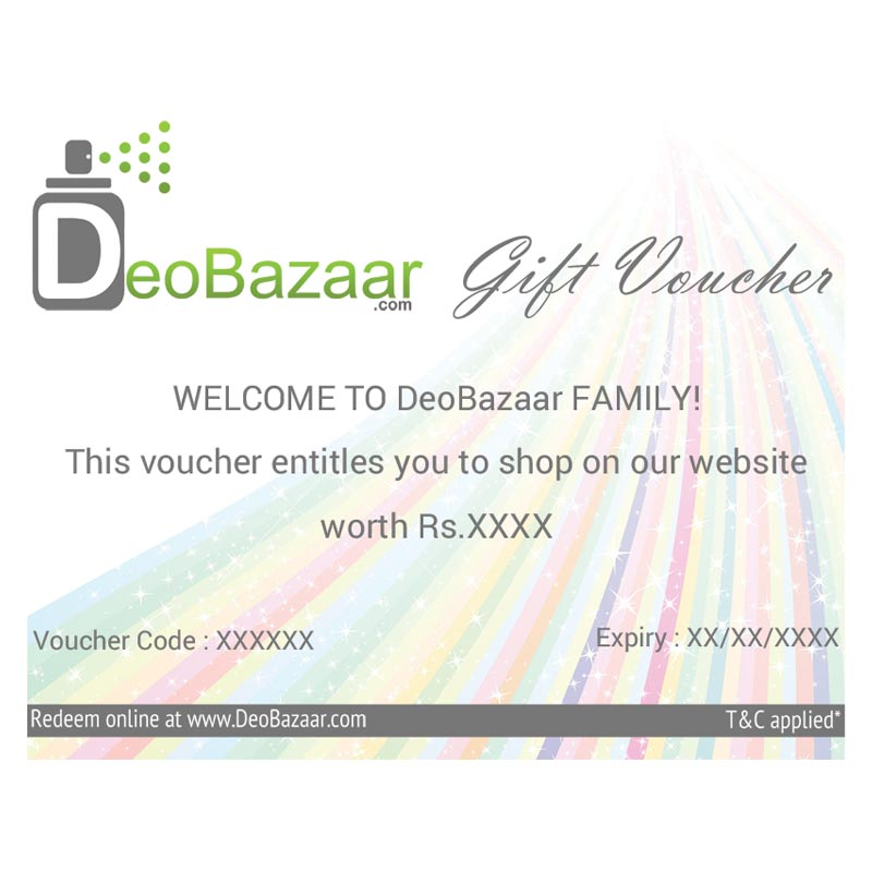DeoBazaar Gift Voucher Rs1500