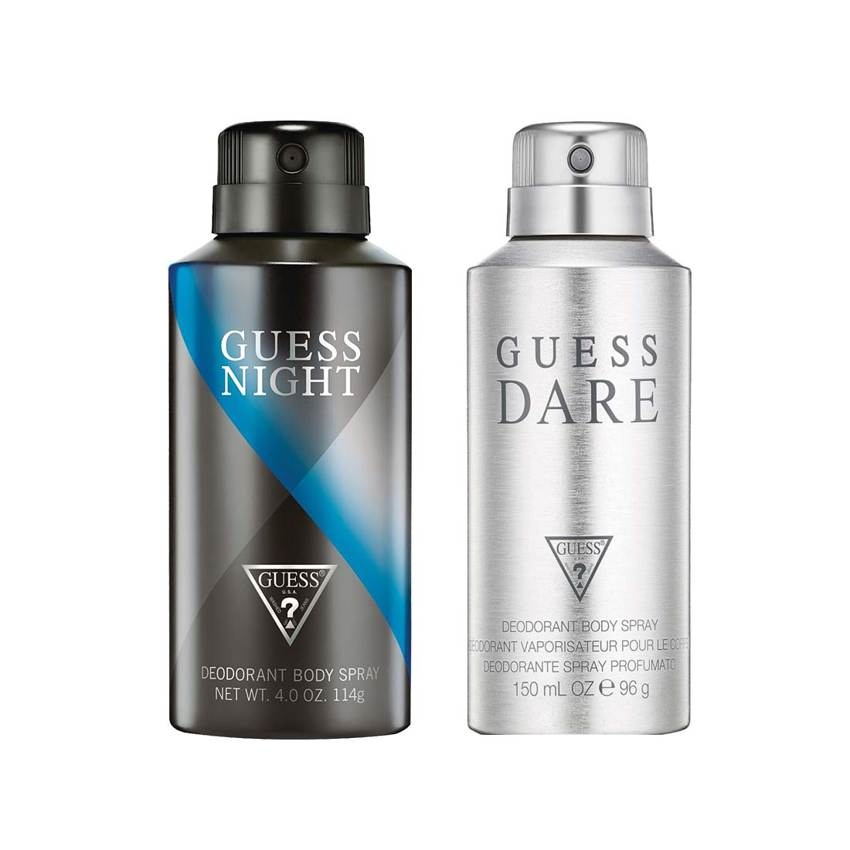 Guess Dare, Night Pack of 2 Deodorants
