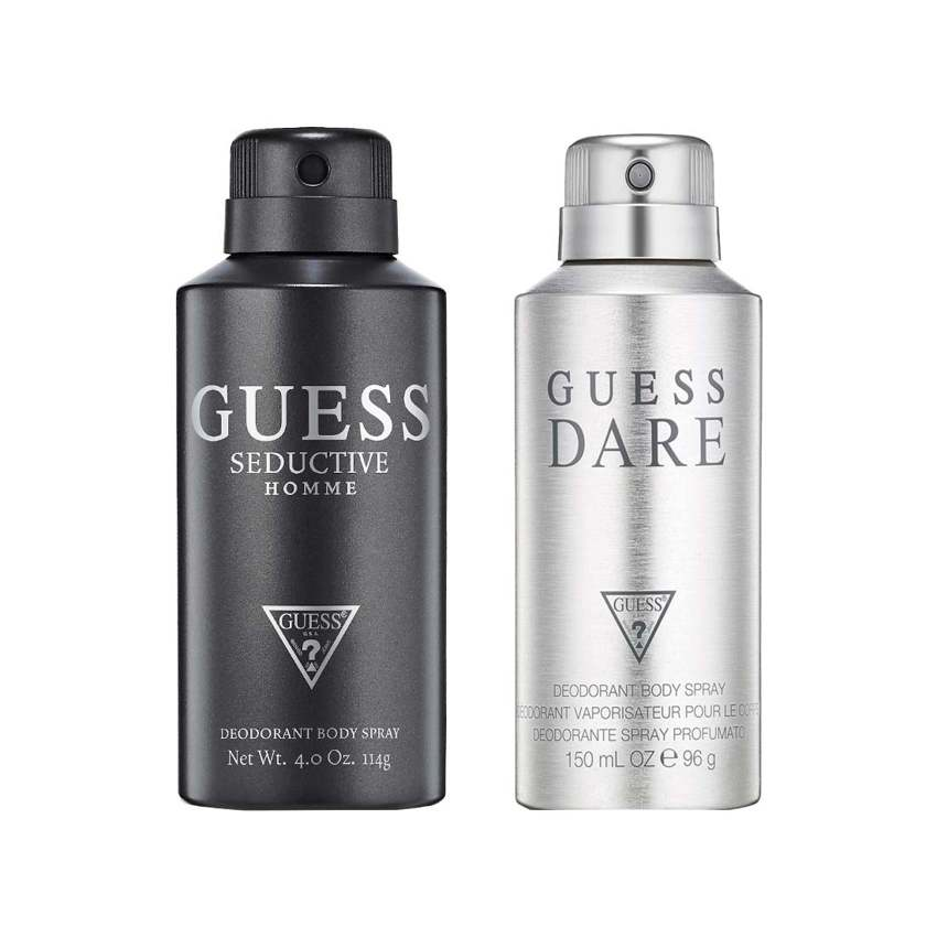 Guess Dare, Seductive Homme Pack of 2 Deodorants