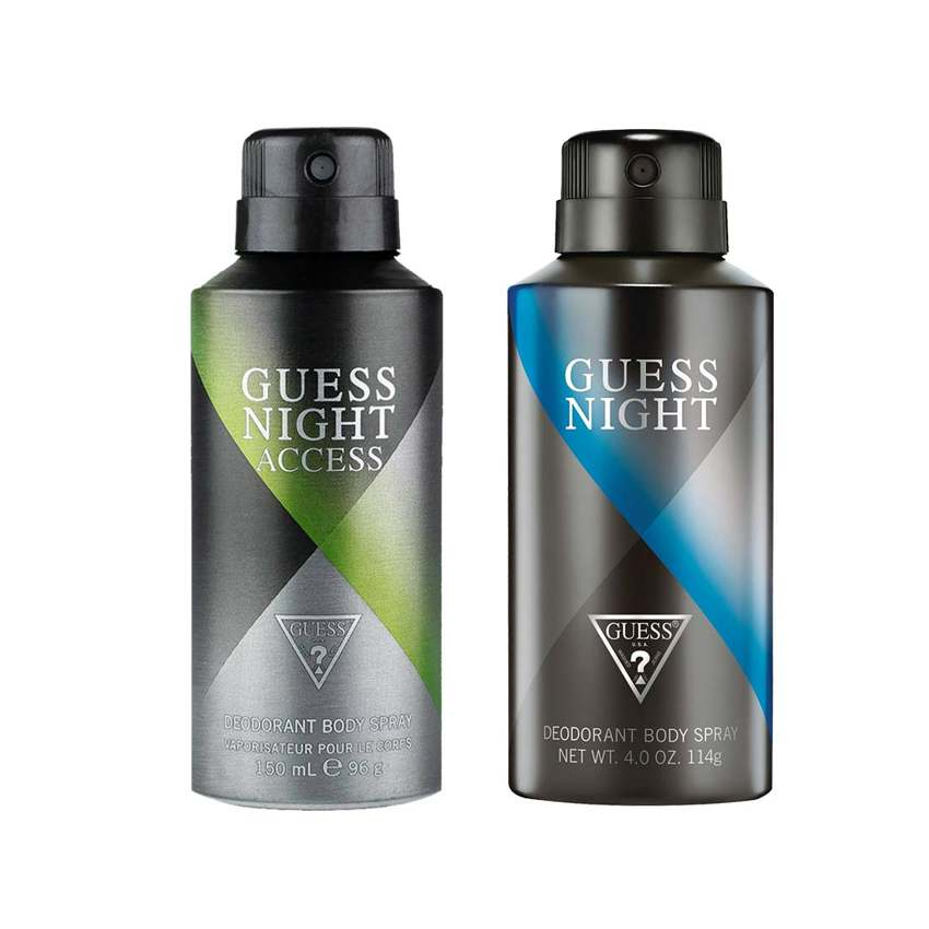 Guess Night Access, Night Pack of 2 Deodorants