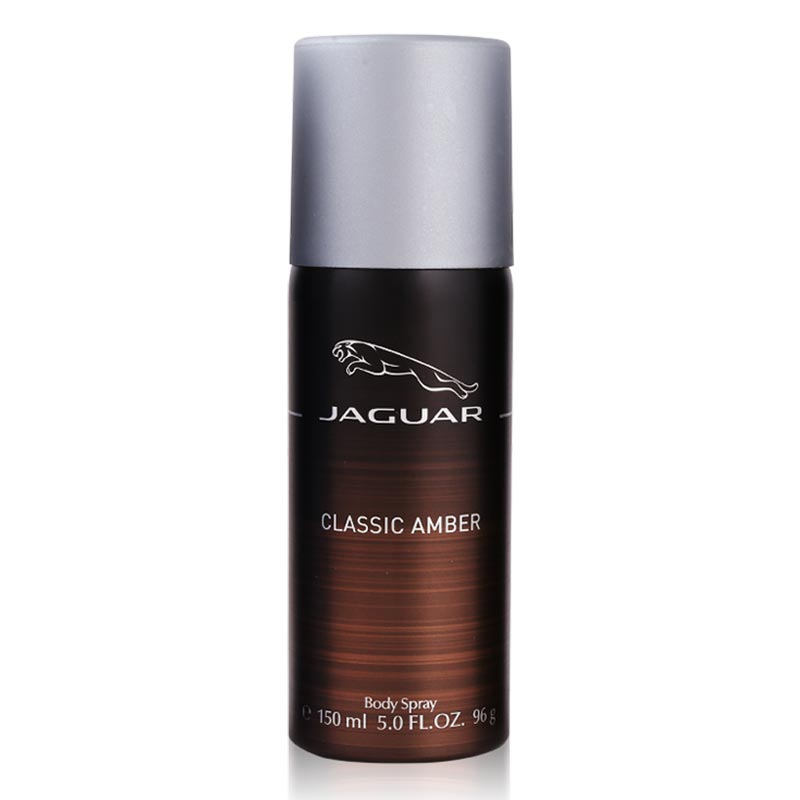 Jaguar Classic Amber Deodorant Spray