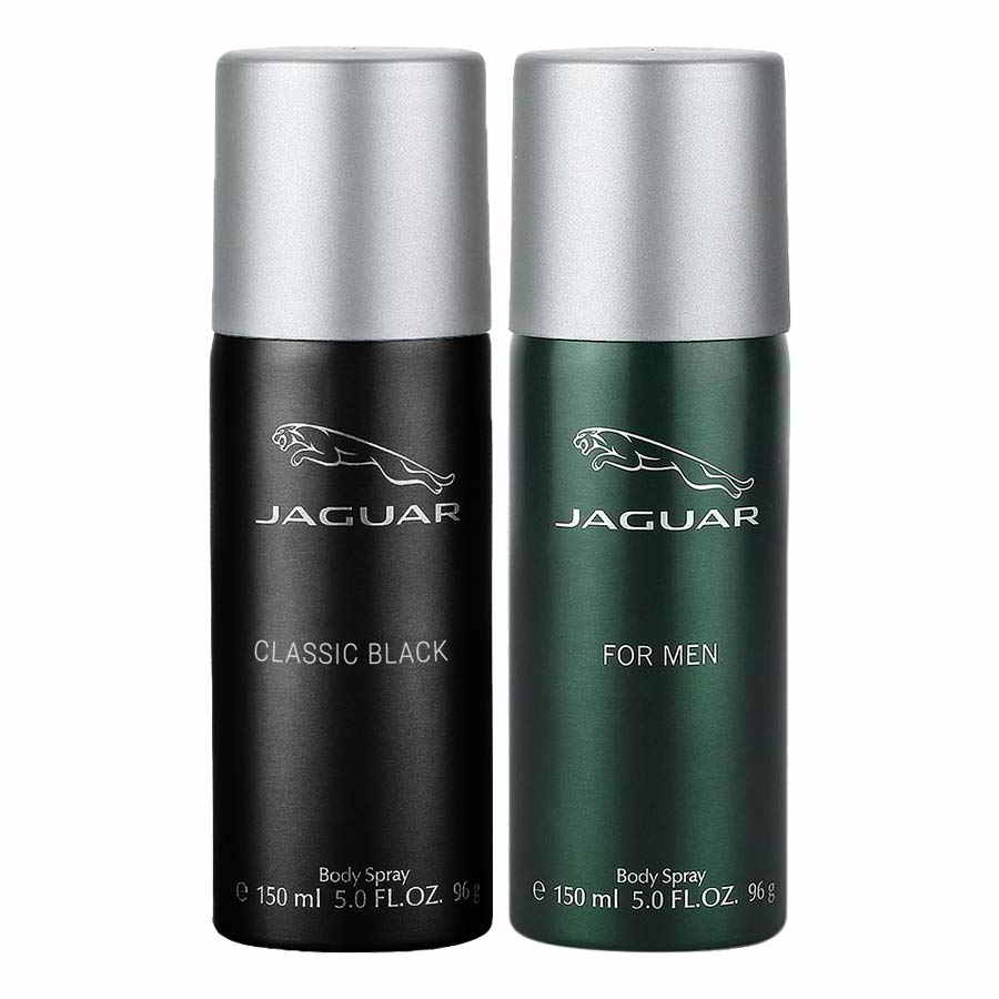 a38f1249ab Jaguar Classic Black And Green Value Pack Of 2 Deodorants 150ml ...