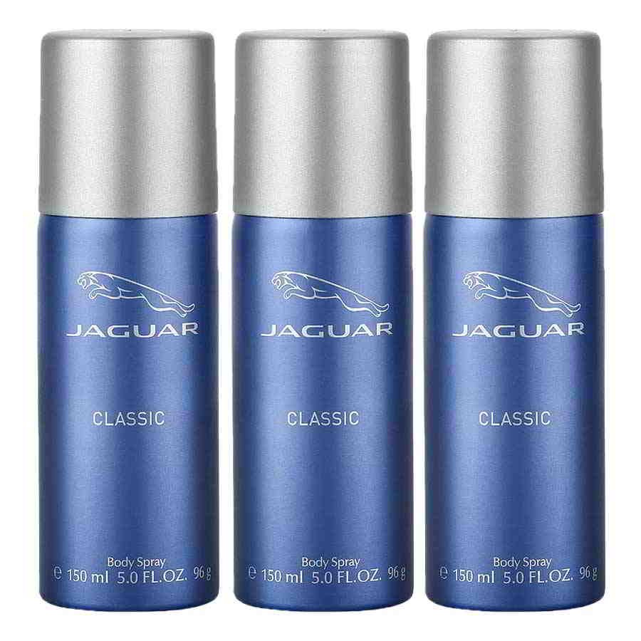 Jaguar Classic Blue Value Pack Of 3 Deodorants