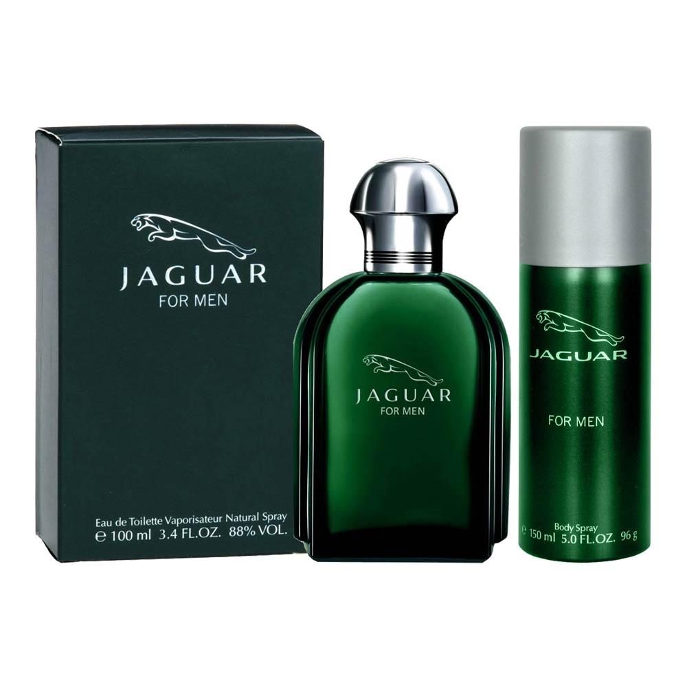 Jaguar Green Perfume Price: Jaguar Classic Green Perfume And Deodorant Combo 100ml Perfume & 150ml Deodorant For Men