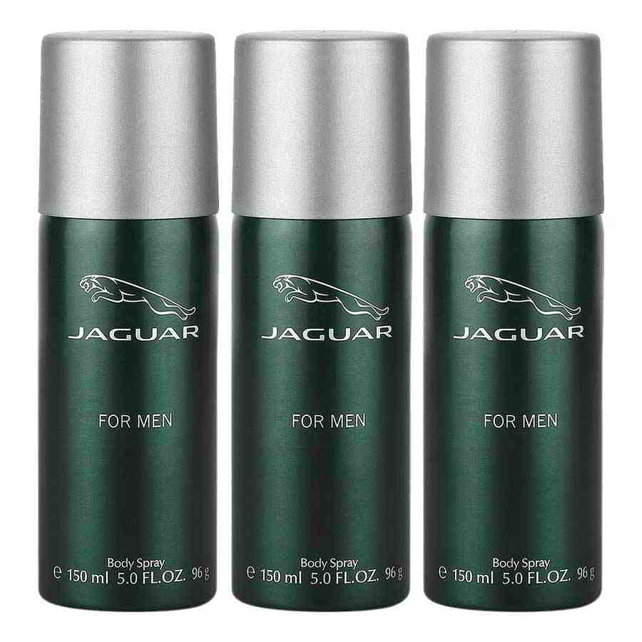 Jaguar Classic Green Value Pack Of 3 Deodorants