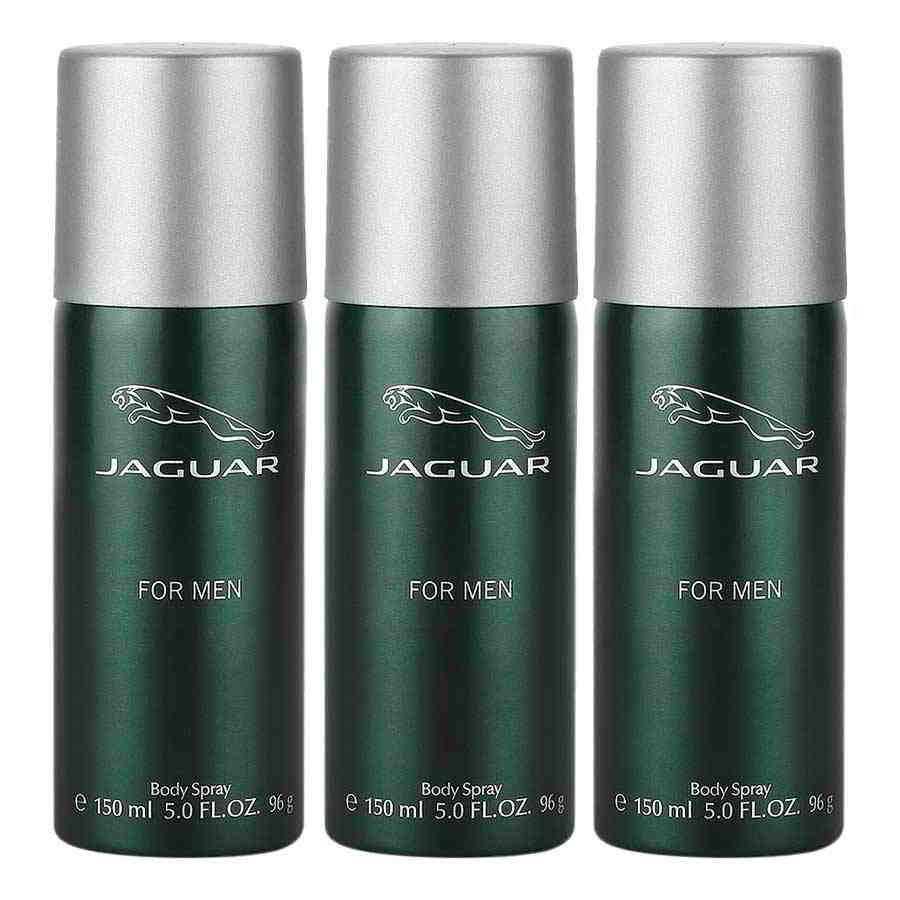 Jaguar Classic Green Value Pack Of 3 Deodorants