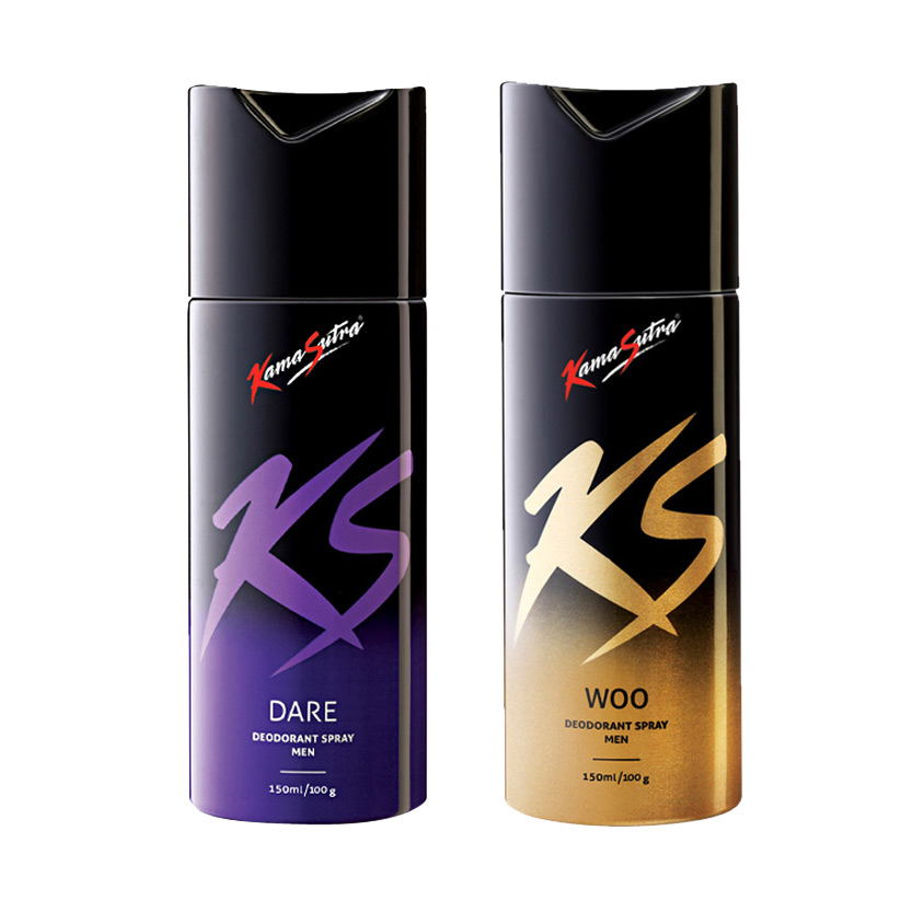Kamasutra Dare, Woo Pack of 2 Deodorants