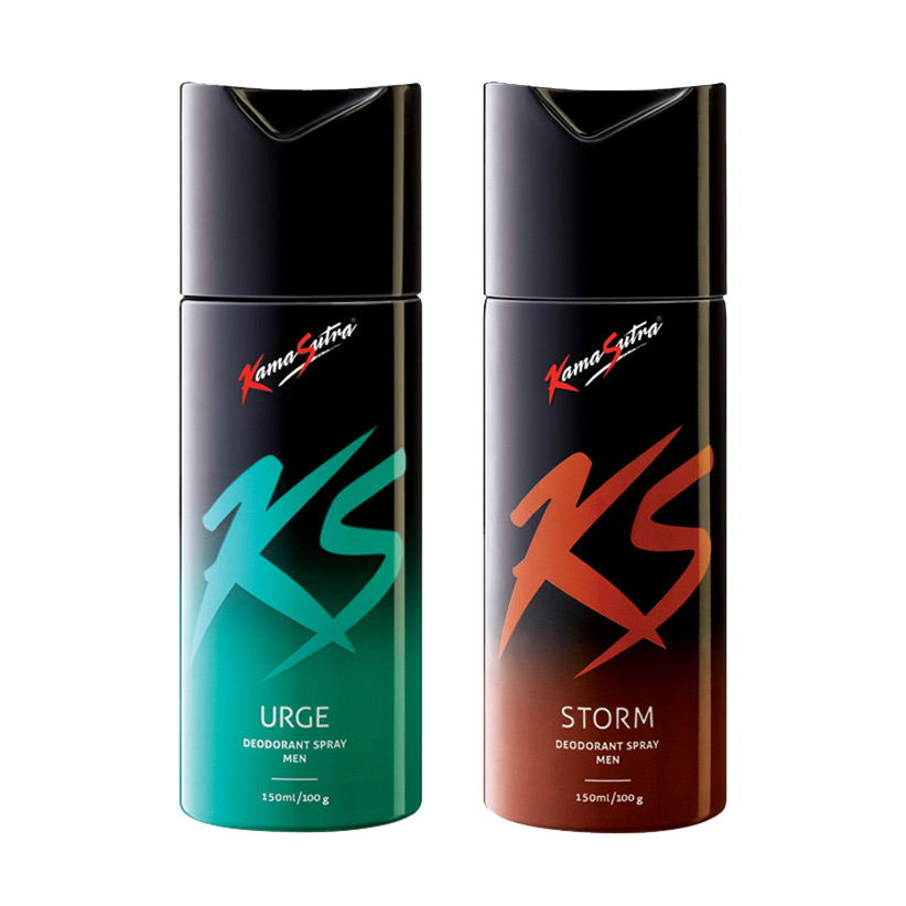 Kamasutra Storm, Urge Pack of 2 Deodorants