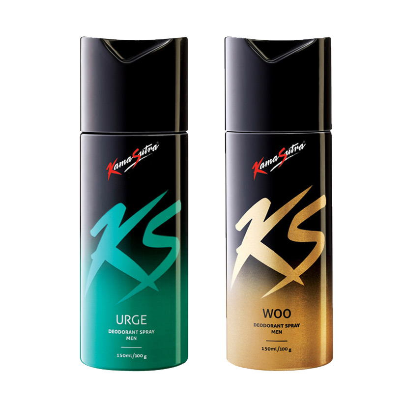 Kamasutra Woo, Urge Pack of 2 Deodorants