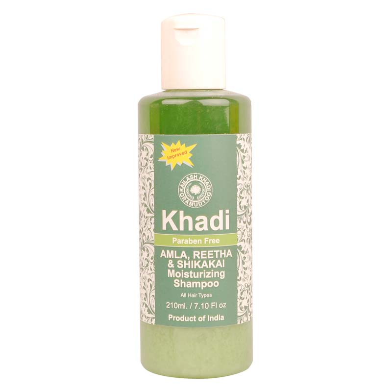 Khadi Amla Reetha and Shikakai Moisturizing Shampoo