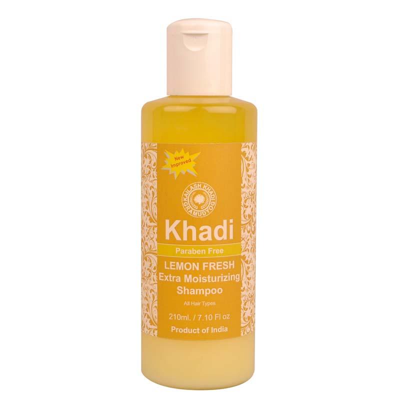 Khadi Lemon Fresh Extra Moisturizing Shampoo