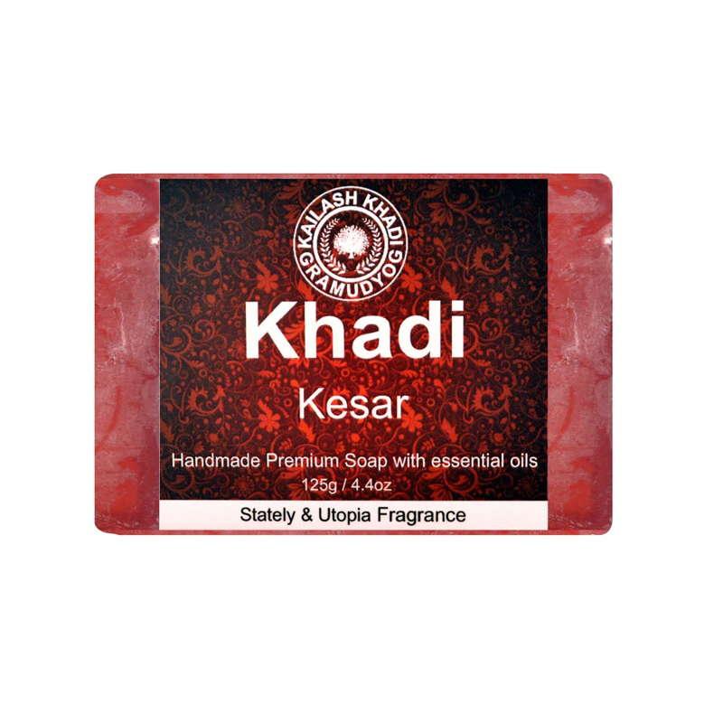 Khadi Gramudyog Kesar Soap