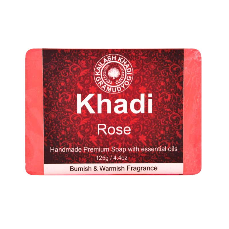 Khadi Gramudyog Rose Soap