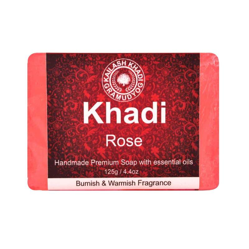 Khadi Gramudyog Rose Soap