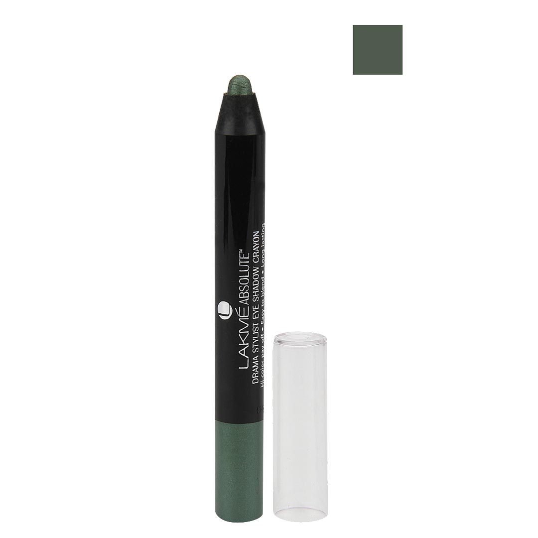 Lakme Absolute Drama Stylist Eye Shadow Crayon Olive