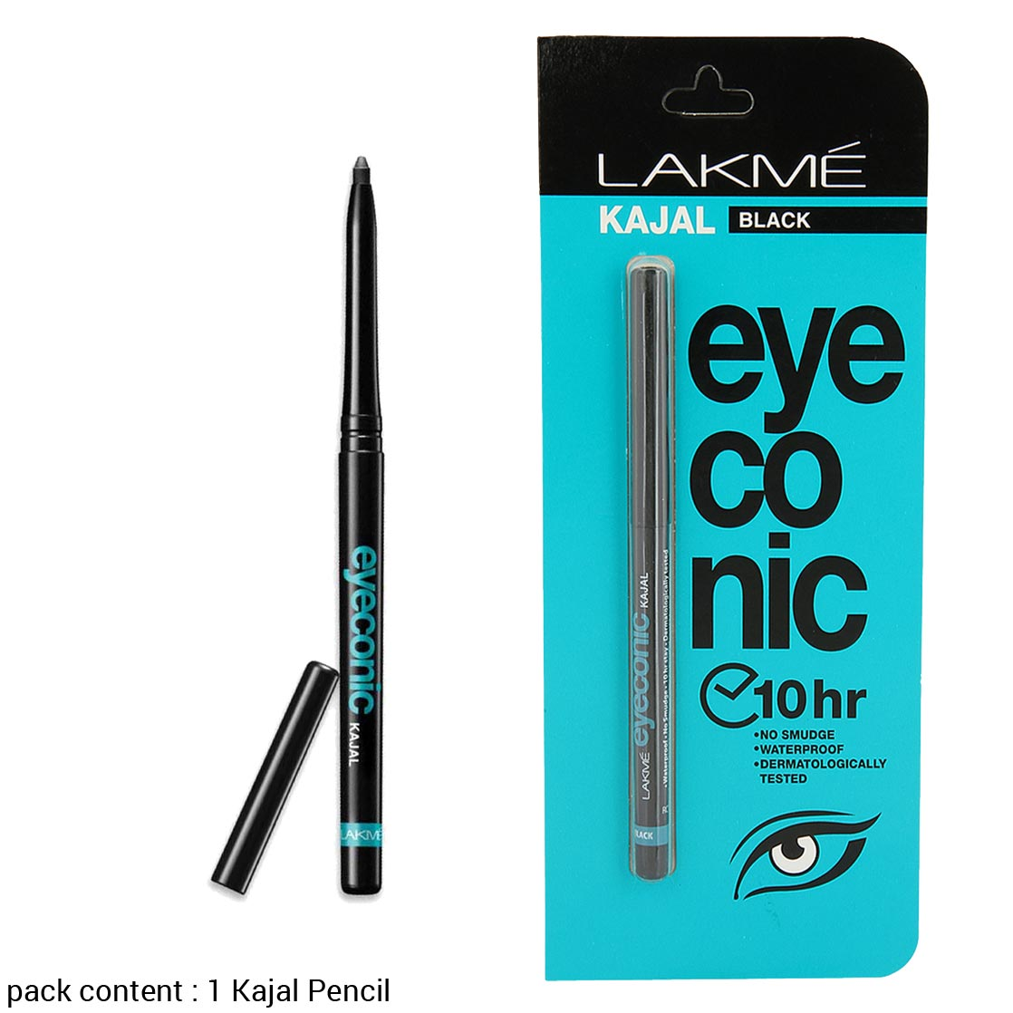 Lakme Eyeconic 10 Hour Lasting Smudge Proof Kajal