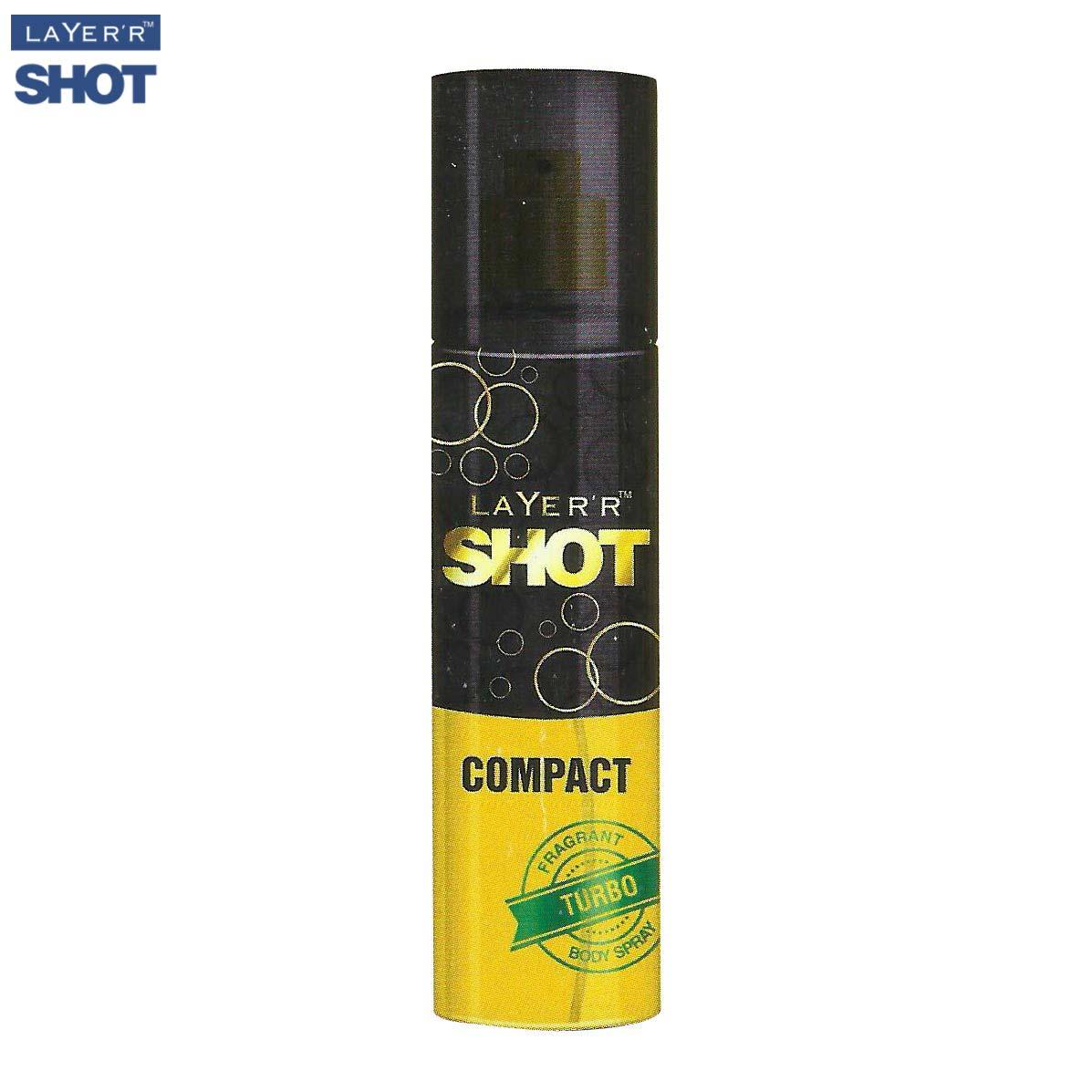 Layerr Shot Compact Turbo Body Spray