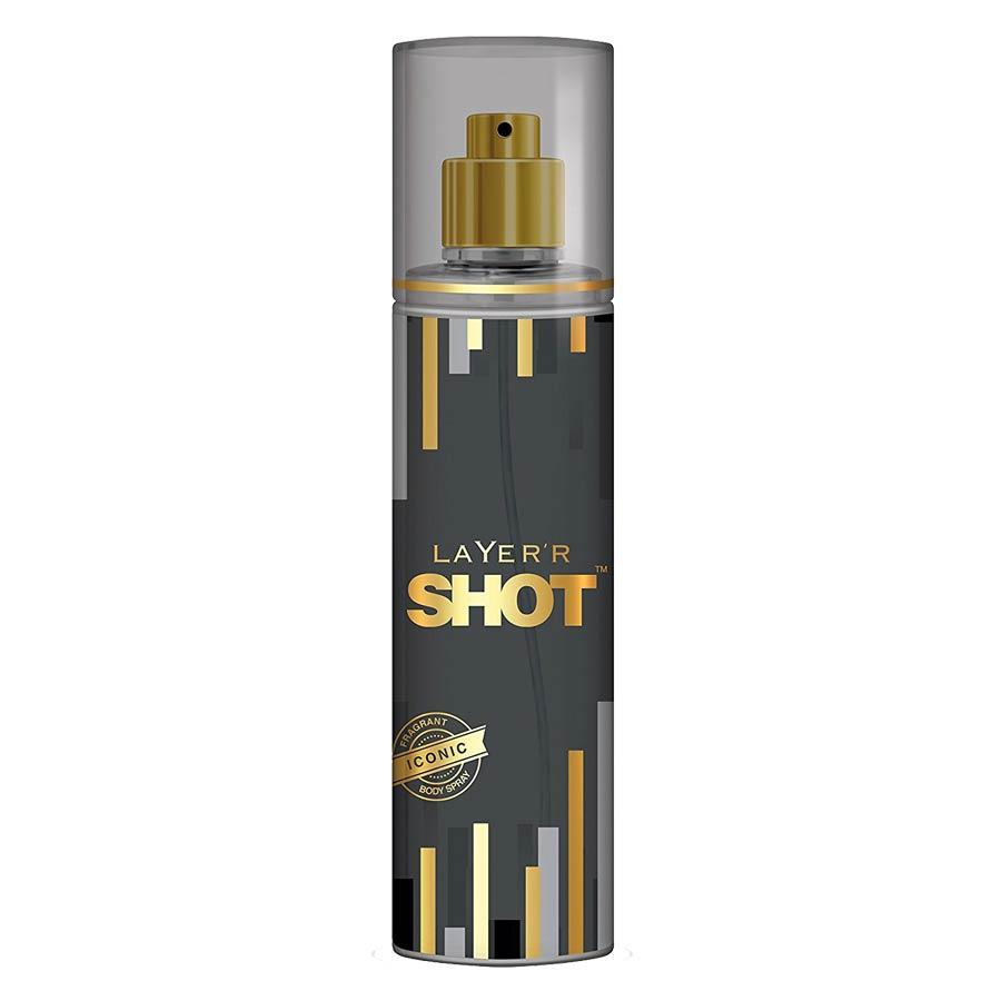 Layerr Shot Gold Iconic Deodorant Body Spray