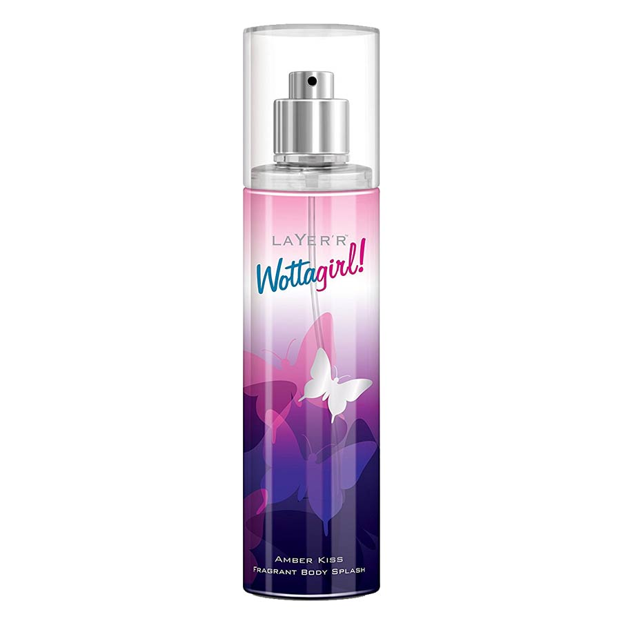 Layerr Wottagirl Amber Kiss Deodorant Body Spray