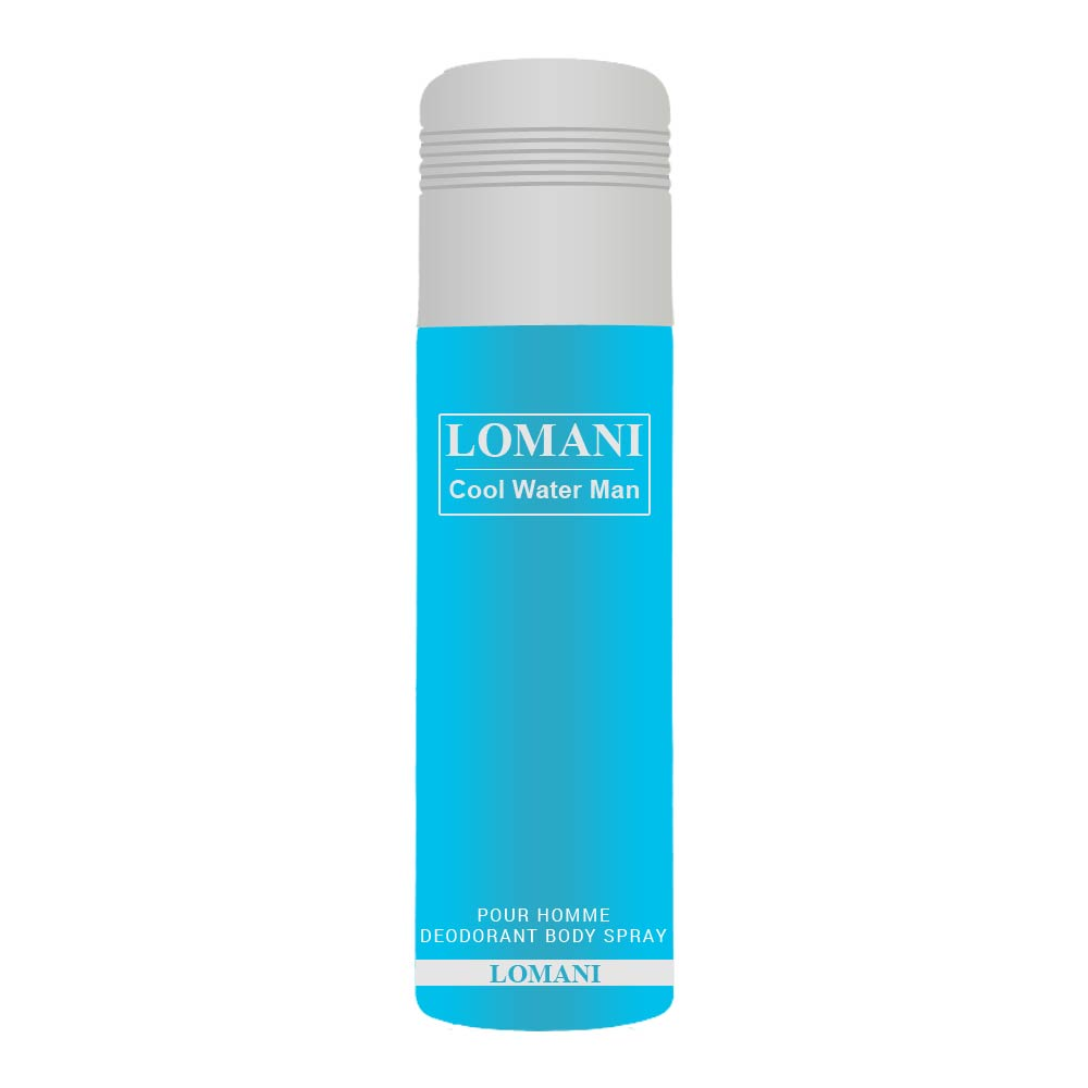 Lomani Cool Water Deodorant Combo  (Men And Women)