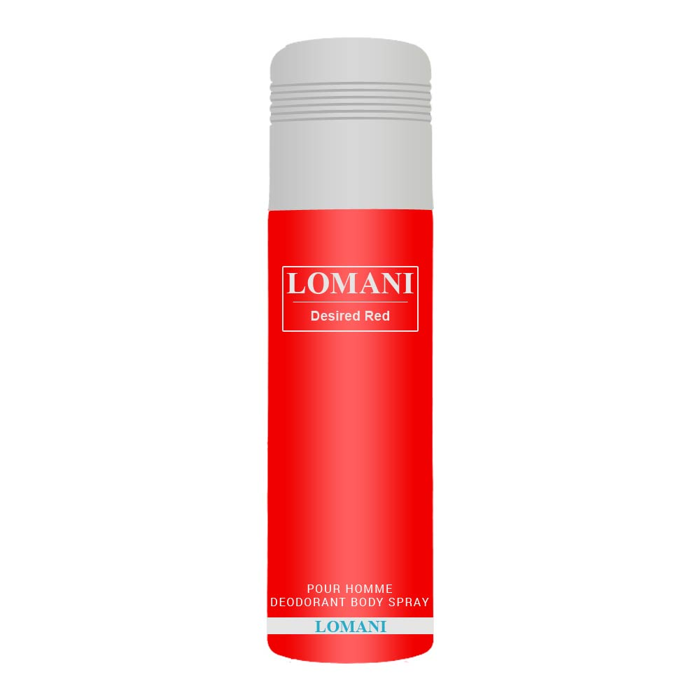 Lomani Desired Red Deodorant