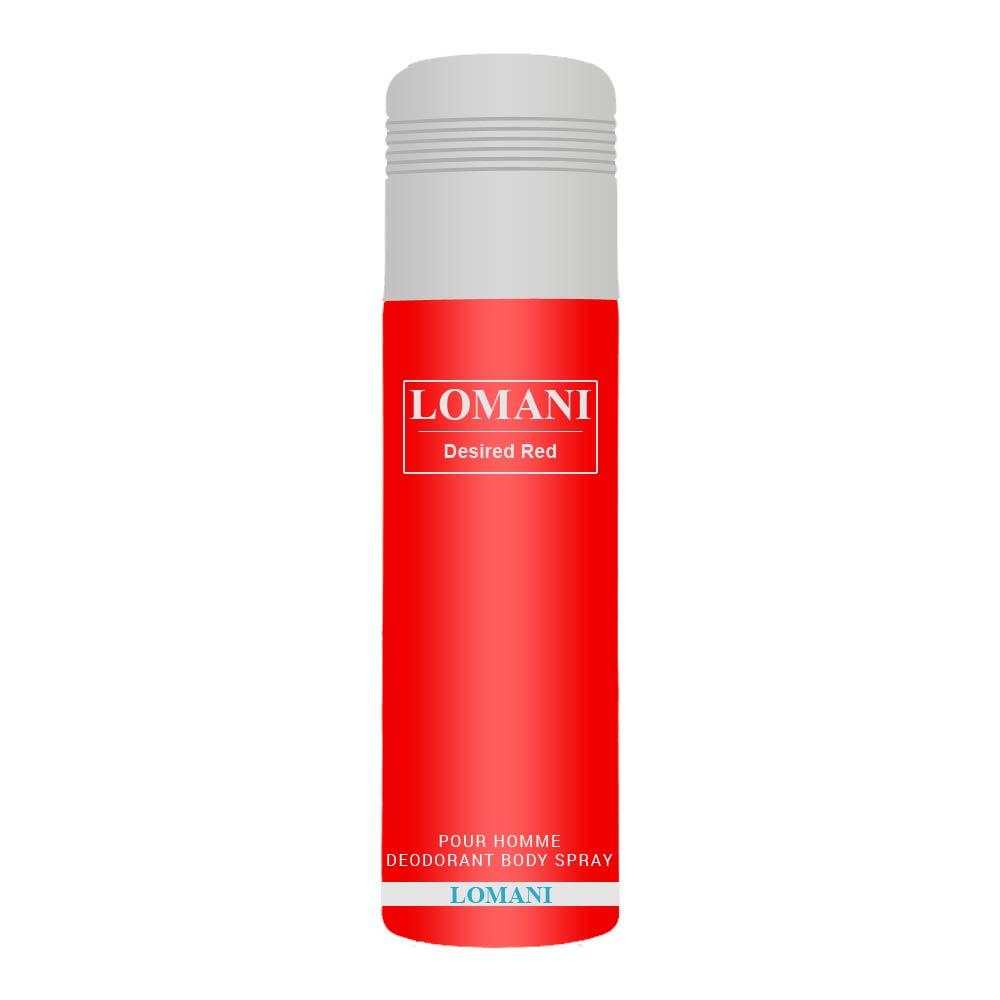 Lomani Desired Red Deodorant
