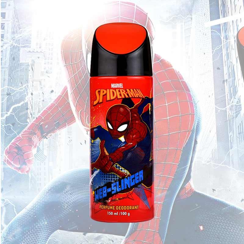 Marvel Spiderman Web Slinger Deodorant Spray