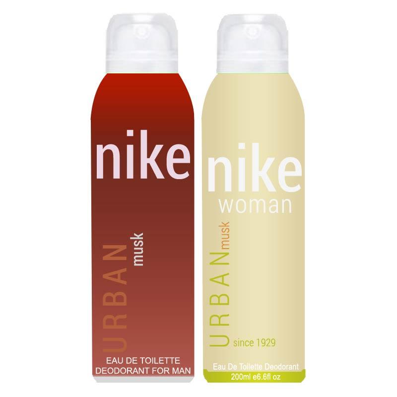 NIKE Urban Musk Combo Of 2 Deodorants