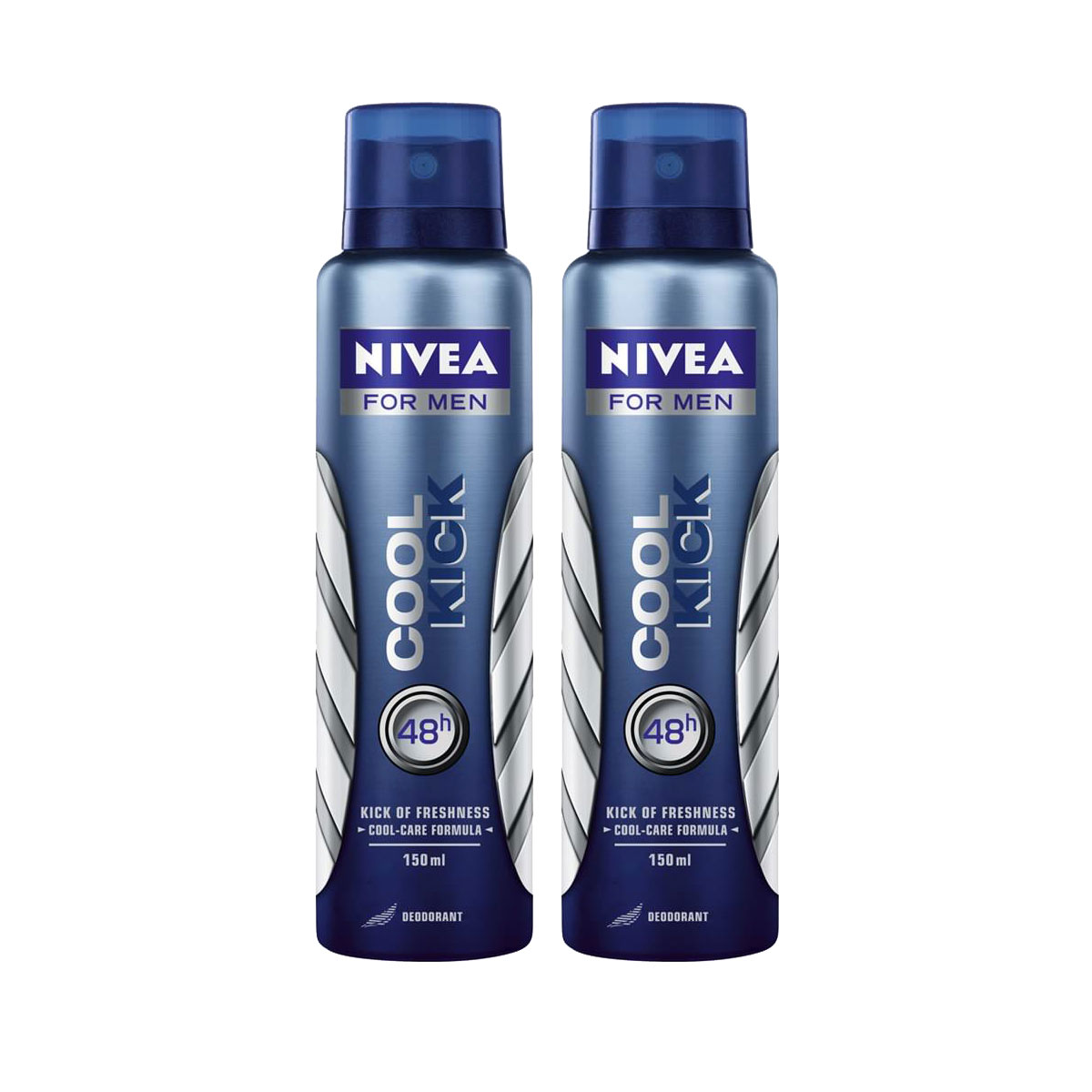 Nivea Set of 2 Cool Kick Deodorants
