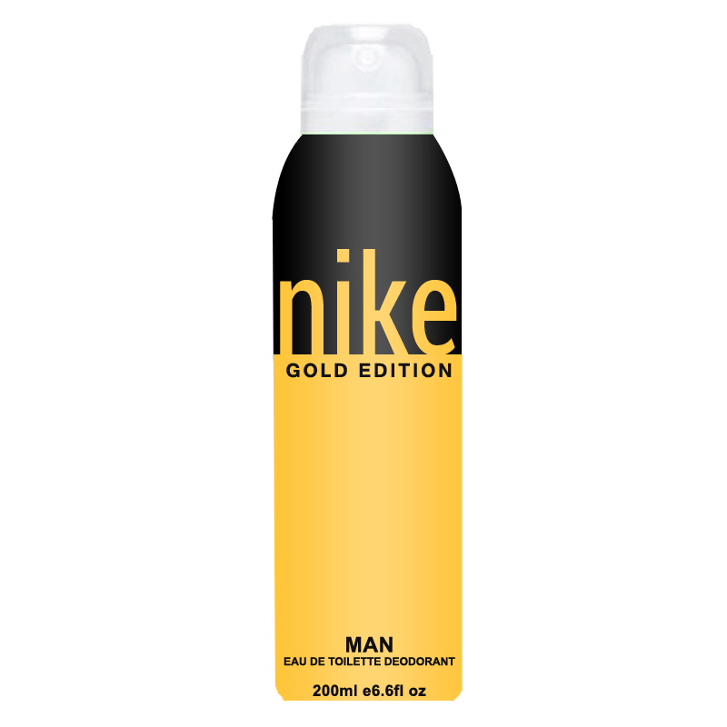 Buy Online Nike Gold Edition Pour Homme Deodorant Spray For Men ... cfd6b3bf4786