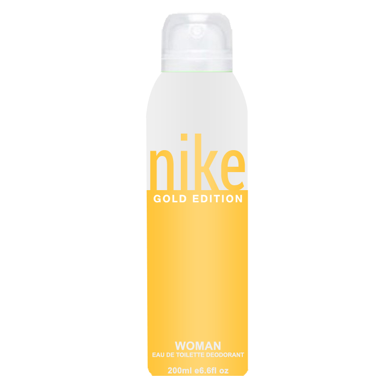 buy online nike gold edition pour femme deodorant spray for women online rs 239 by nike. Black Bedroom Furniture Sets. Home Design Ideas
