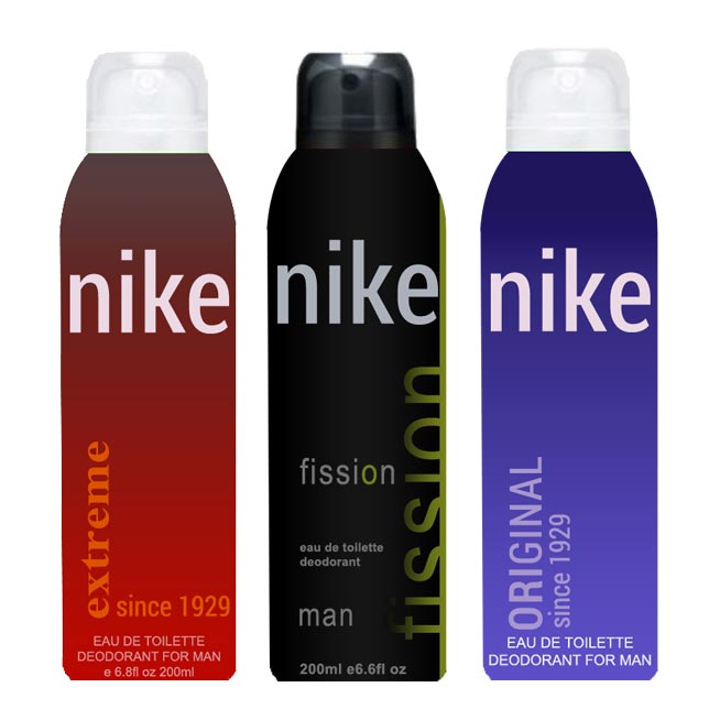 Nike Original Extreme Fission Pack of 3 Deodorants